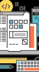 Изготовление рекламных листовок, баннеров, открыток, пригласительных, флаеров и т. д.. Разработка логотипов и установка на вебсйты. Оформительские услуги. Макеты для печати.