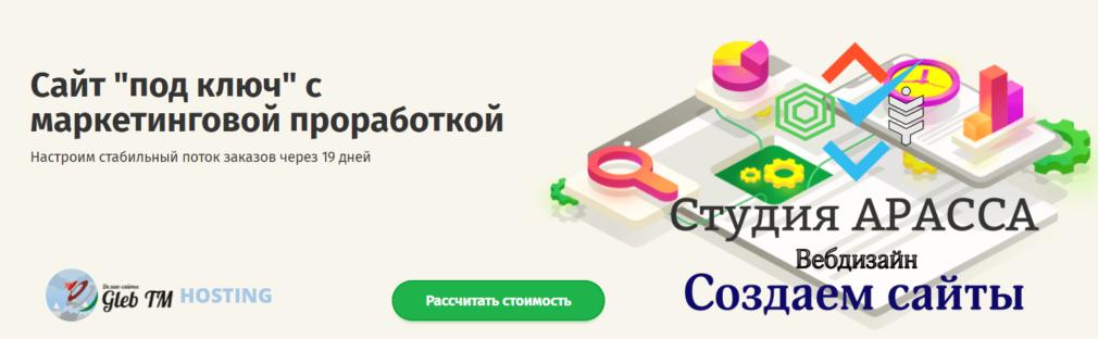 Сайт под ключ с маркетинговой проработкой